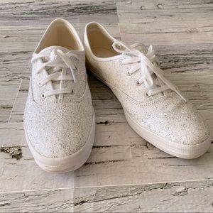 Keds Dream Foam memory foam glitter sneakers